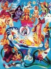 Krishna's infinite manifestations Plate 30