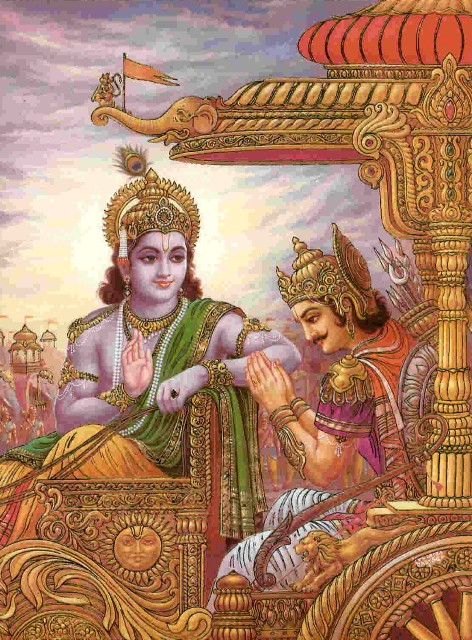 Krishna and Arjuna Nature, the Enjoyer, and Consciousness