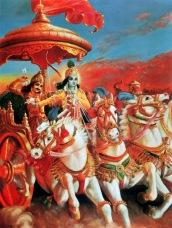 Krishna and Arjuna Plate 44